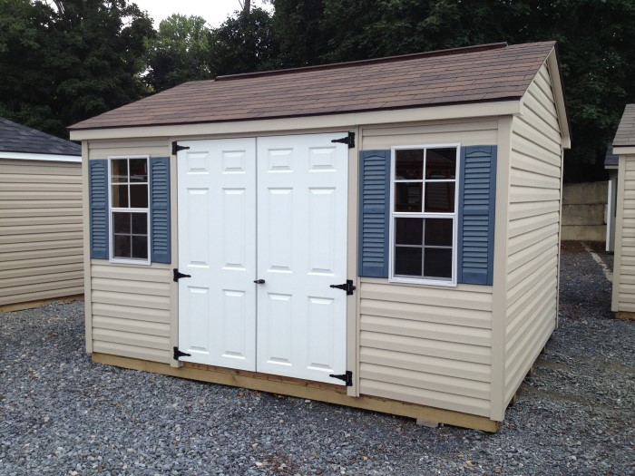 amish wood sheds va bid buildings a backyard your frame virginia storage blog package deluxe building trim for