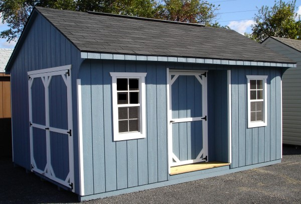 Amish Garages In Pa : Amish storage sheds pa nj vinyl backyard